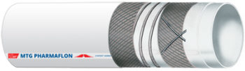 Multipurpose hose, specifically designed for conveying chemical, pharmaceutical, cosmetic and food products in pharma-cosmetic, biotech and food industries.