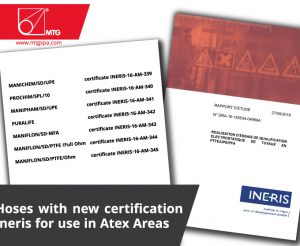 MTG hoses ineris certification
