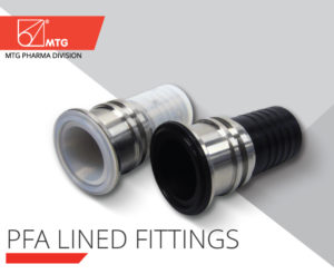 PFA Lined FITTINGS - MTG PHARMA DIVISION