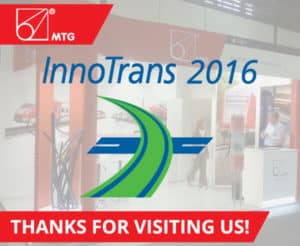 Innotrans 2016 MTG - Thanks