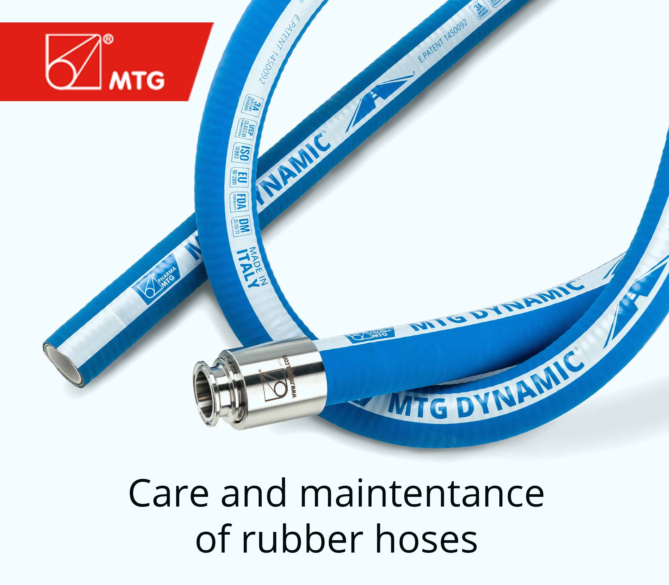 MTG - Maintenance and care of rubber hoses
